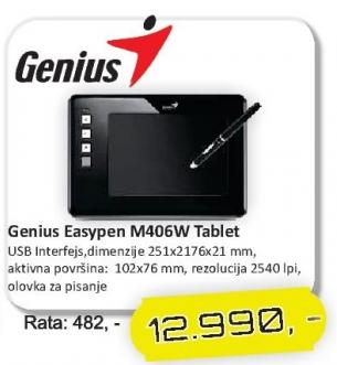 Tablet Easypen M406w