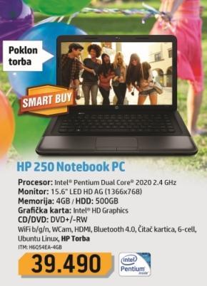 Laptop 250 H6054EA-4G