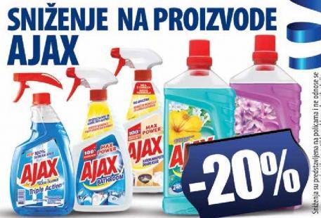 Sniženje na proizvode Ajax