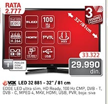 Televizor LED 32881