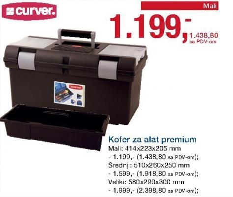 Kofer za alat Premium Mali