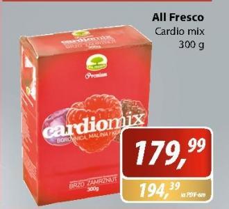 Smrznuti cardio mix