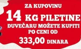 14 kg piletine