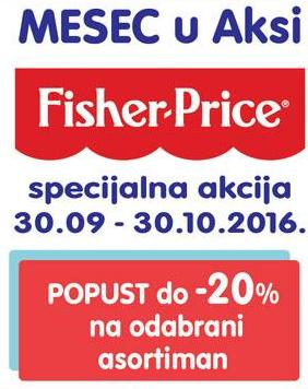 Mesec Fisher-Price u Aksi