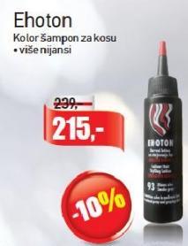 Kolor šampon Ehoton
