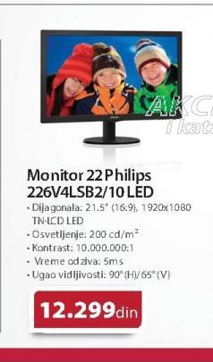 Monitor 22 226V4LSB2/10