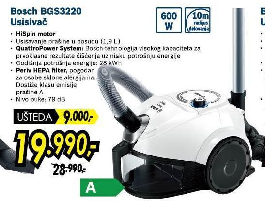 Usisivač Bgs3220