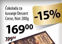 Čokolada dessert corse