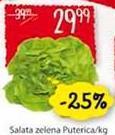Salata zelena puterica