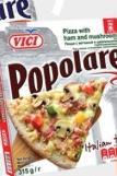 Smrznuta pizza šunka i pečurke