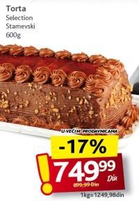 Torta Selection