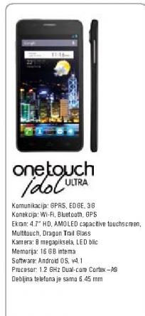 Mobilni telefon OneTouch 6033 Idol Ultra