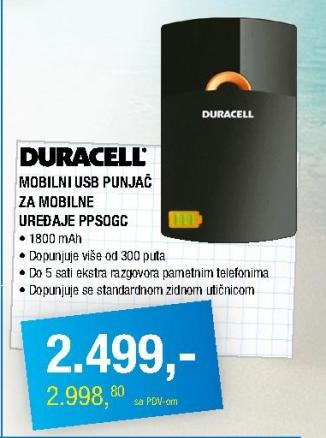 Mobilni USB punjač PPSOGC