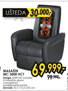 Fotelja Za Šijacu Masažu Mc 3000 Hct