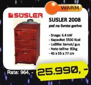 Peć 2008 Susler