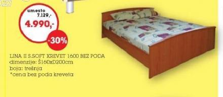 Krevet Lina II Soft