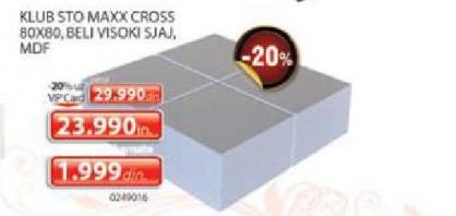 Klub sto Maxx Cross