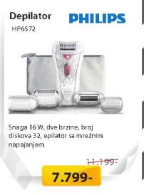 Depilator HP6572