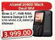 Mobilni telefon Ot2040d Black Dual Sim