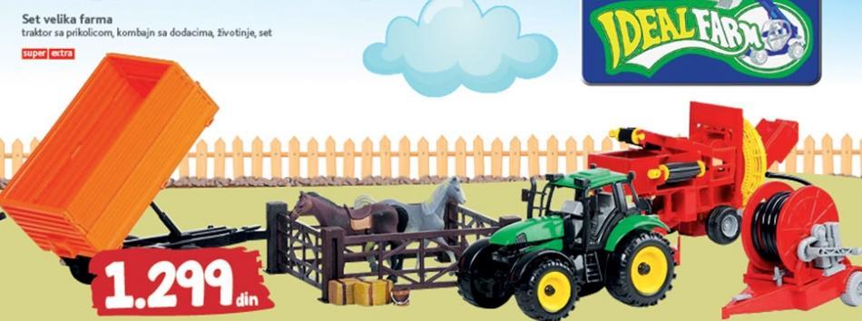 Igračka Set velika farma
