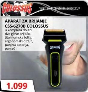 Aparat za brijanje CSS-6270B
