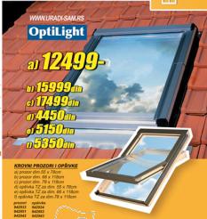Opšivke za krovne prozore
