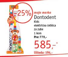 Četkica za zube Kids Električna