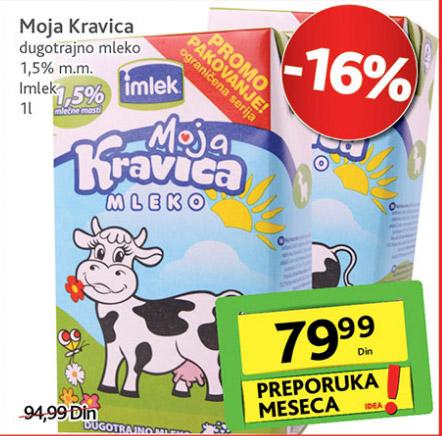 Dugotrajno mleko 1,5% mm