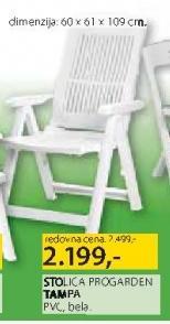 Baštenska stolica Progarden Tampa