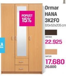 Ormar HANA 3K2FO