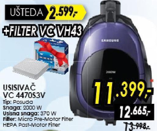Usisivač Vc 4470s3v