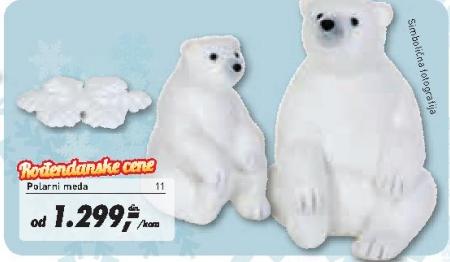 Polarni meda 17x16x21 cm