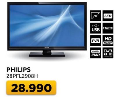 "Televizor LED 28"" 28pfl2908h"