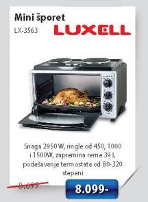 Mini Šporet Lx 3563