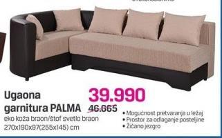 Ugaona garnitura Palma