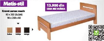 Bračni Krevet samac MATIS-STIL