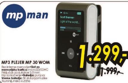 MP3 Player MP30 WOM
