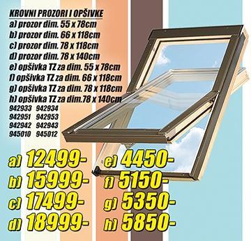 Krovni prozor 55x78cm