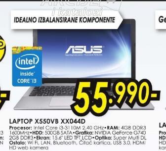 Laptop X550VB-XX044D