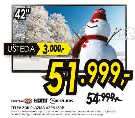 Plazma televizor 42PN450B