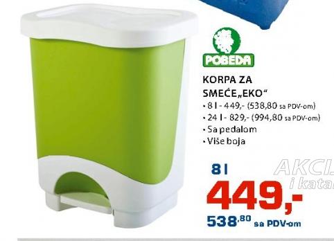 """KORPA ZA SMEĆE """"EKO"""" 24L"""