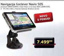 GPS Navigacija Navio 505