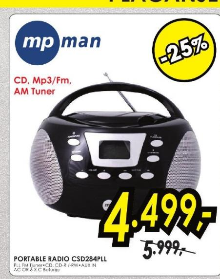 Radio CD CSU-284PLL
