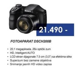 Fotoaparat DSCH200B