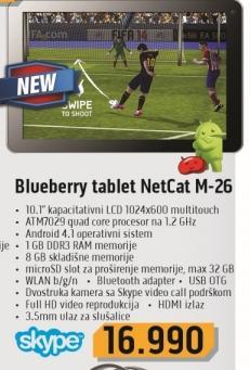 Tablet Netcat M-26