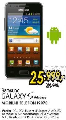 Mobilni telefon Galaxy S Advance I9070