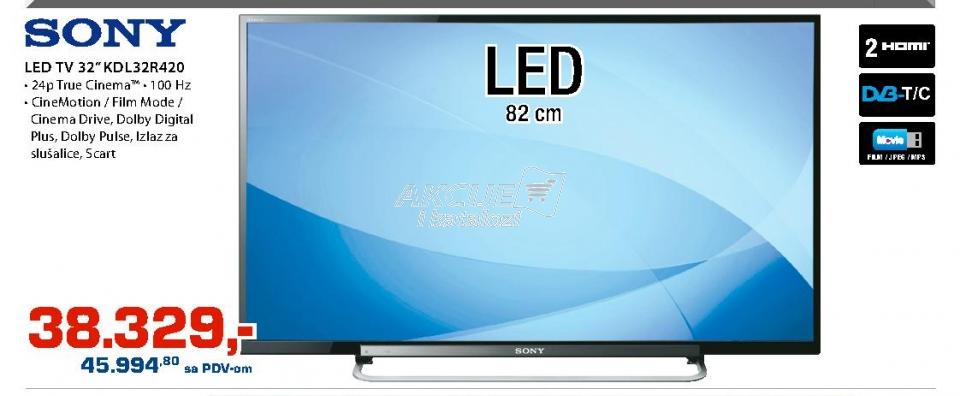 Televizor LED Kdl-32r420