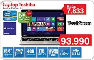 Laptop Satellite P50t-A-10n