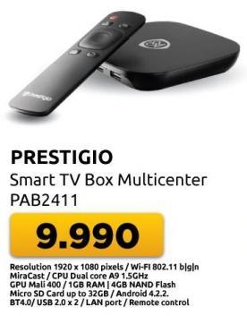 Smart TV Box Multicenter Pab2111