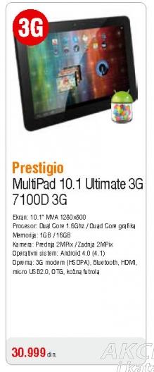 Multipad Pmp7100D 3G Duo